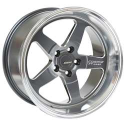Колесный диск Cosmis Racing Wheels XT-005R 10x18/5x114.3 D73.1 ET20 Gun Metal w/Machined Lip