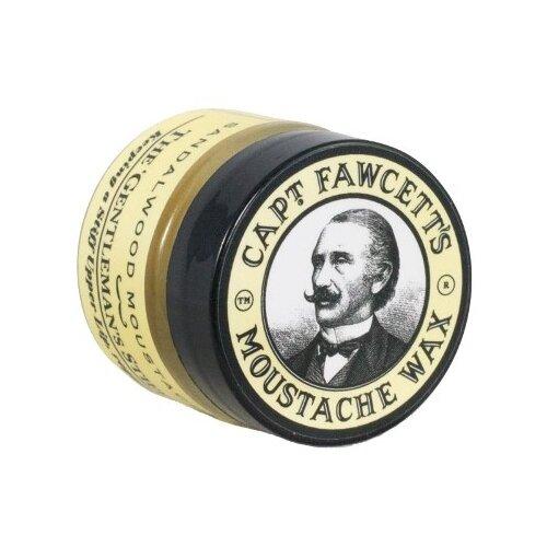 Captain Fawcett Воск для усов Sandalwood Moustache Wax, 15 мл