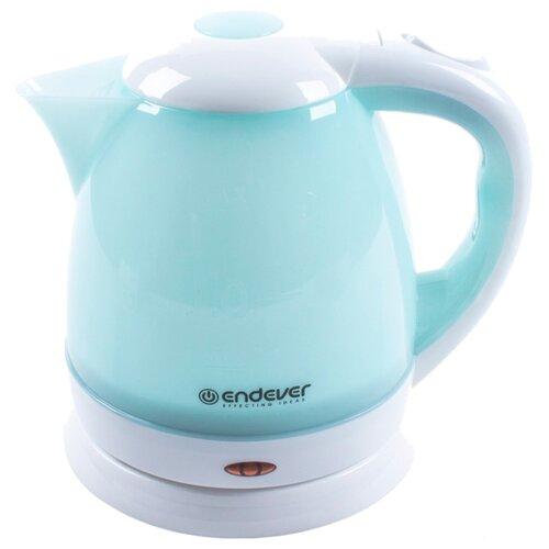 Чайник ENDEVER KR-347, белый/голубойЭлектрочайники и термопоты<br>