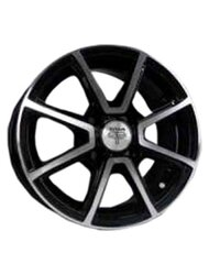RS Wheels TI01 5,5x0 4x98 ET 35 Dia 58,6 (черный MB) - фото 1