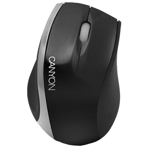 Мышь Canyon CNR-MSPACK4 Black-Silver USB