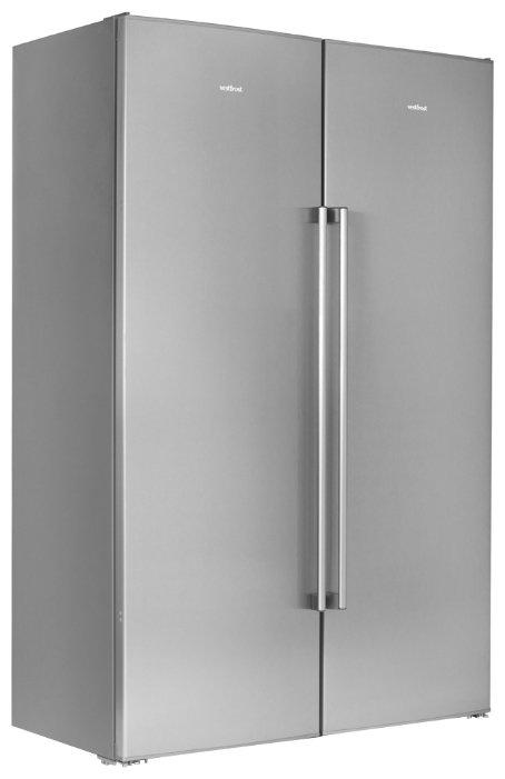 Холодильник Vestfrost VF395-1SBS серебристый