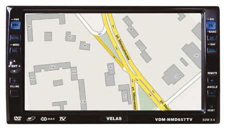 Автомагнитола Velas VDM-NMD657TV