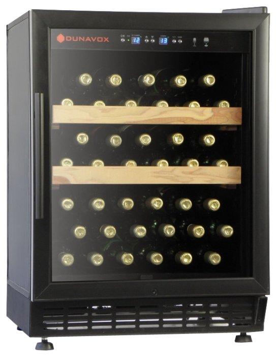Встраиваемый винный шкаф Dunavox DX-46.103K
