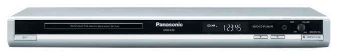 Panasonic DVD-K33EE-S