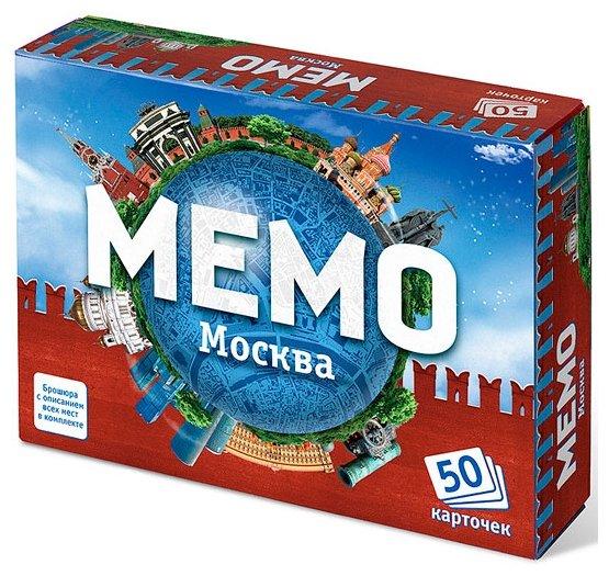 Настольная игра Нескучные игры Мемо Москва