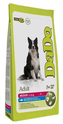 Корм для собак DaDo Для собак средних пород с океанической рыбой и рисом