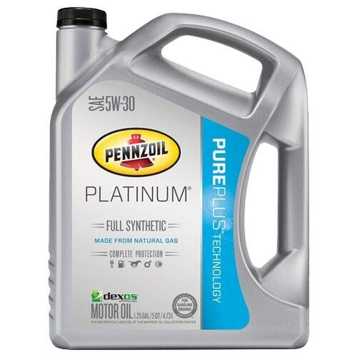 Фото - Моторное масло Pennzoil Platinum Full Synthetic SAE 5W-30 4.73 л моторное масло pennzoil gold synthetic blend sae 5w 30 0 946 л