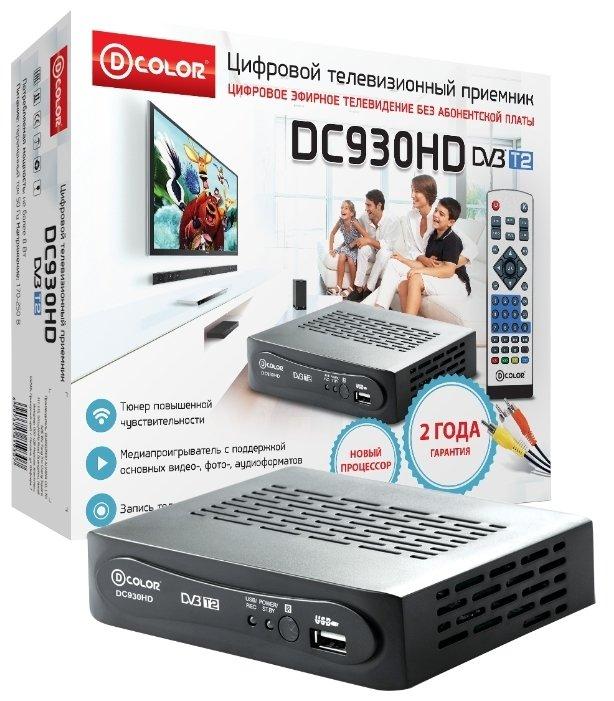 TV-тюнер D-COLOR DC930HD