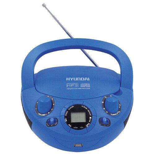 Магнитола Hyundai H-PCD200/H-PCD220 синий