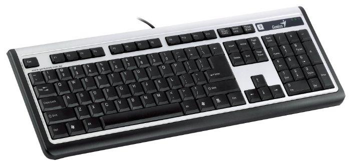 Genius SlimStar 100 Black-Silver PS/2