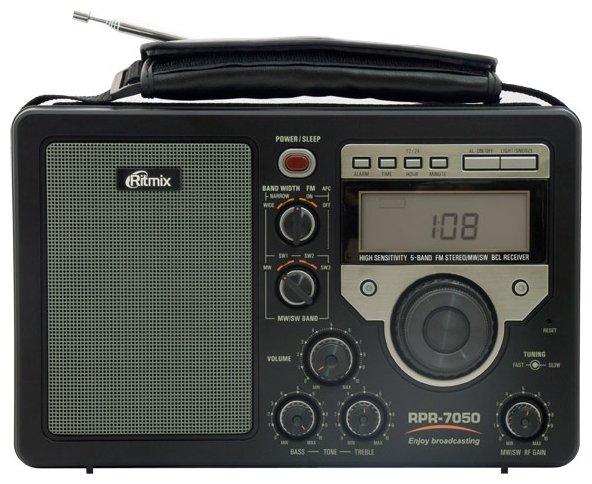Ritmix RPR-7050, Black радиоприемник