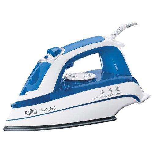 Утюг Braun TexStyle TS355A синий/белый