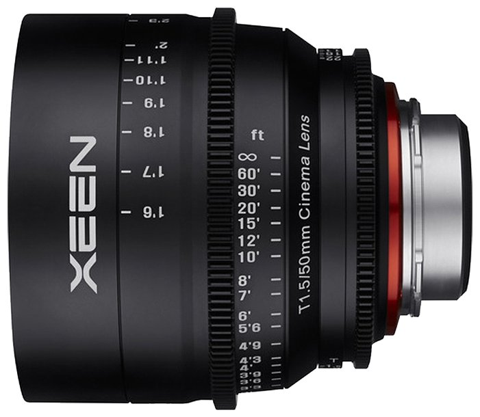 Xeen 50mm T1.5 Canon EF