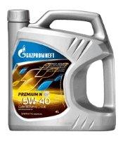 Газпромнефть Premium N 5W-40 4 л
