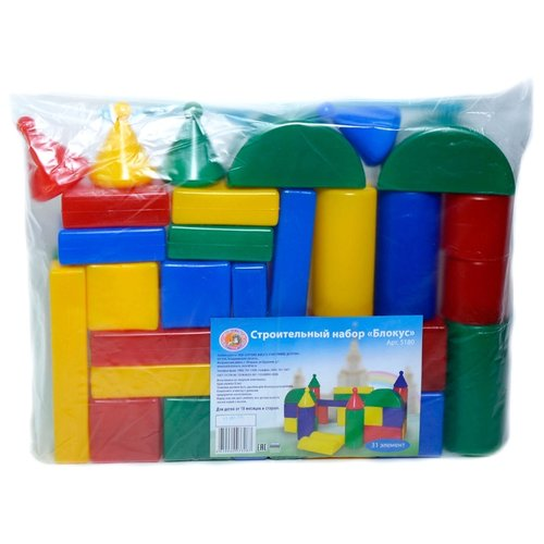 Кубики Строим вместе счастливое детство Блокус 5180 фото