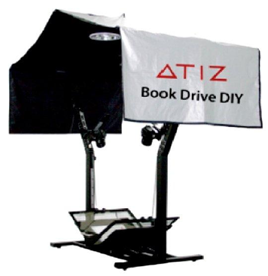 ATIZ BookDrive DIY model B + Canon EOS 550D