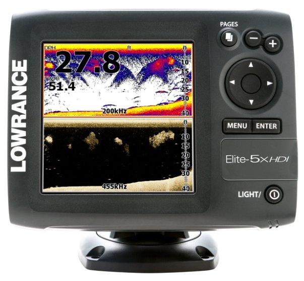 Lowrance Elite-5x HDI
