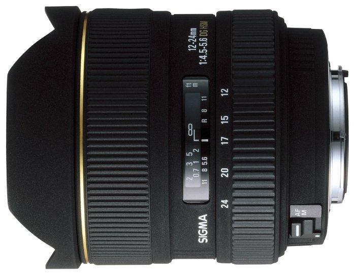 Объектив Sigma AF 12-24mm f/4.5-5.6 EX DG Aspherical HSM Canon EF