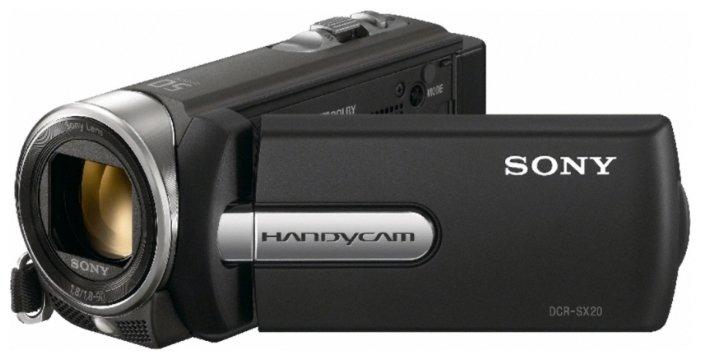 Сравнение с Sony DCR-SX20E