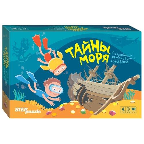 Купить Настольная игра Step puzzle Тайны моря, Настольные игры