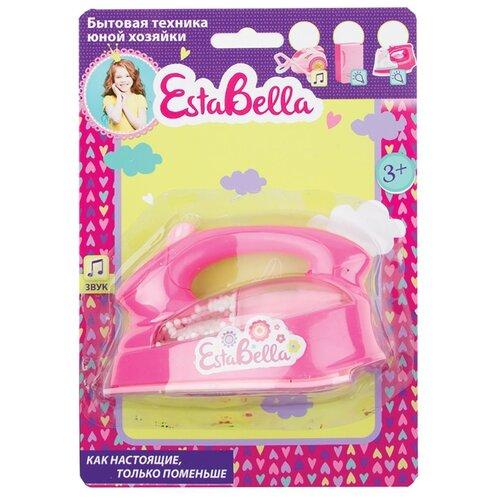 Купить Утюг EstaBella 62064 розовый, Детские кухни и бытовая техника