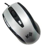 Мышь k-3 Zebra6 Silver-Black USB