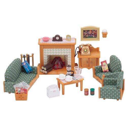 Купить Игровой набор Sylvanian Families Гостиная Delux 2959, Игровые наборы и фигурки