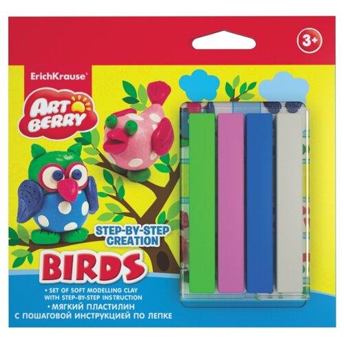 Купить Пластилин ErichKrause Artberry Сreation Birds (38541), Пластилин и масса для лепки