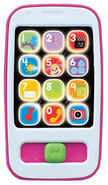 Интерактивная развивающая игрушка Fisher-Price Смартфон