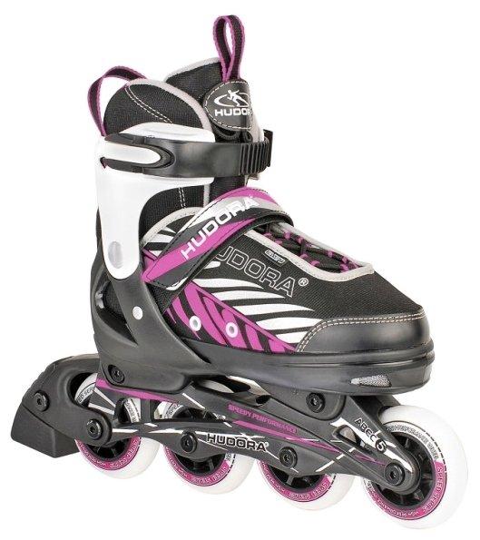Роликовые коньки Hudora Mia pink 37-40