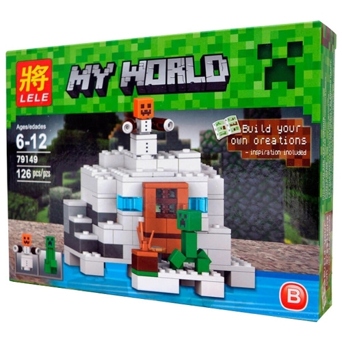 Конструктор Lele My World 79149 Полярная станция