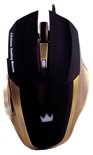 Мышь CROWN MICRO CMXG-604 Black USB