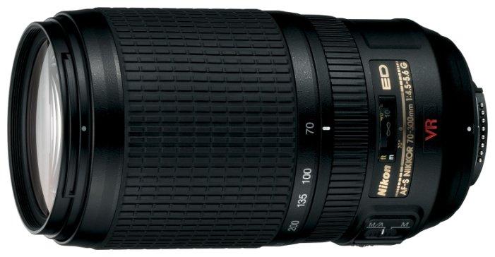 Nikon Объектив Nikon 70-300mm f/4.5-5.6G ED-IF AF-S VR Zoom-Nikkor