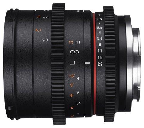 Samyang Объектив Samyang 50mm T1.3 AS UMC CS Canon M