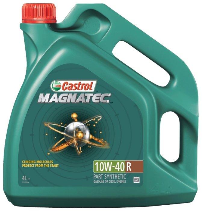 Castrol Magnatec 10W-40 R А3/В4 масло моторное полусинтетическое 10W40 4 л.