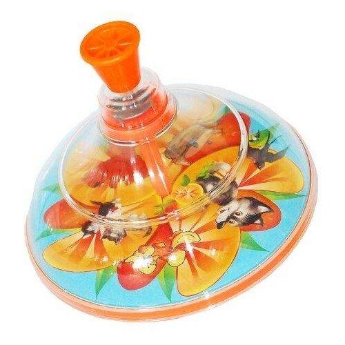 Юла Pelican Апельсин, в сетке (0204) мультиколор, Юлы  - купить со скидкой