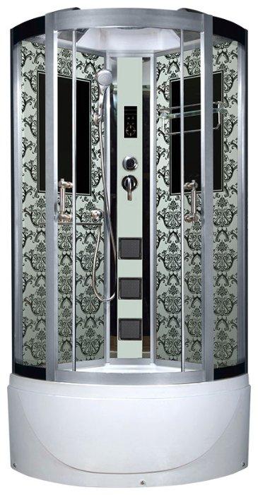 Закрытая кабина угловая Niagara Lux 7790 высокий поддон 90см*90см