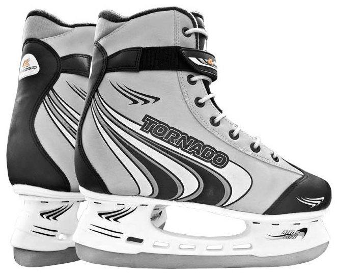 Коньки хоккейные ск tornado silver (2016)