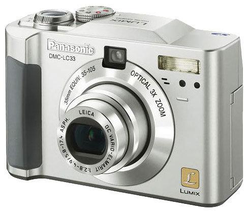 Фотоаппарат Panasonic Lumix DMC-LC33
