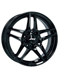 ATS 7,5x17/5x112 ET52,5 D66,5 Mizar Diamond Black Диск - фото 1