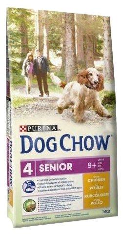 Корм для пожилых собак DOG CHOW курица 14 кг