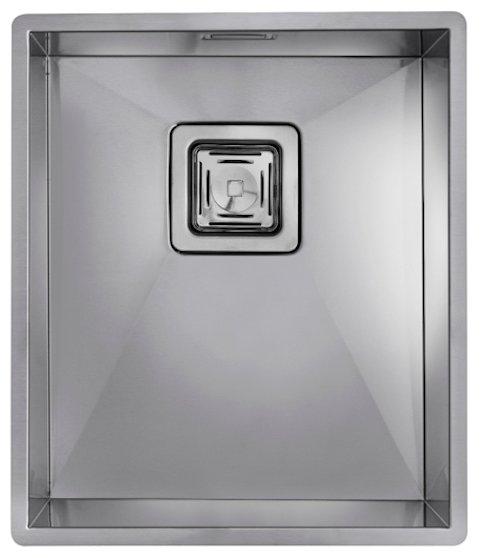Врезная кухонная мойка TEKA Square 340/400 37х43см нержавеющая сталь