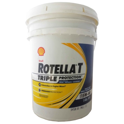 Моторное масло SHELL Rotella T Triple Protection 15W-40 18.9 л