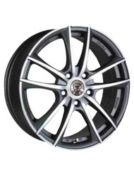 NZ Wheels F-20 BKF 6.5x15/4x98 D58.6 ET40 - фото 1