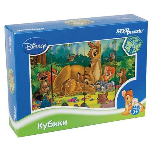 Кубики-пазлы Step puzzle Disney Бемби 87161