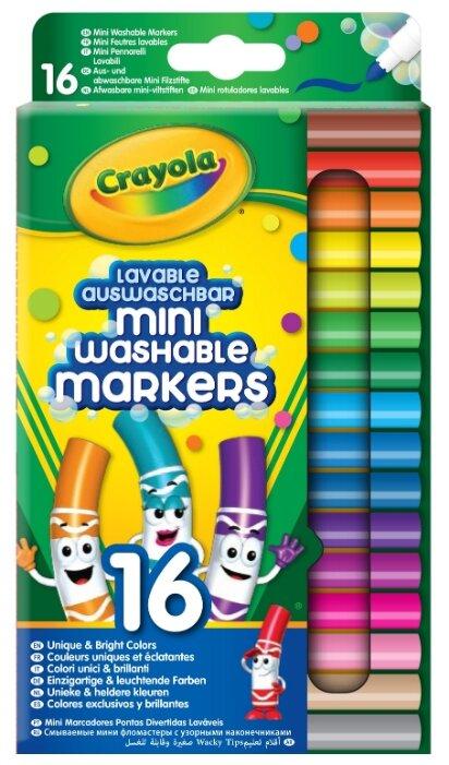 Crayola Мини-фломастеры 16 шт. (58-5055)