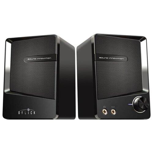 Компьютерная акустика Oklick OK-126 черный  - купить со скидкой