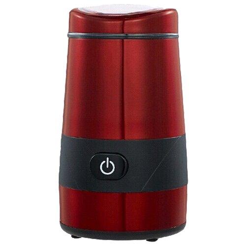 Кофемолка Magio MG-204 красный/черный