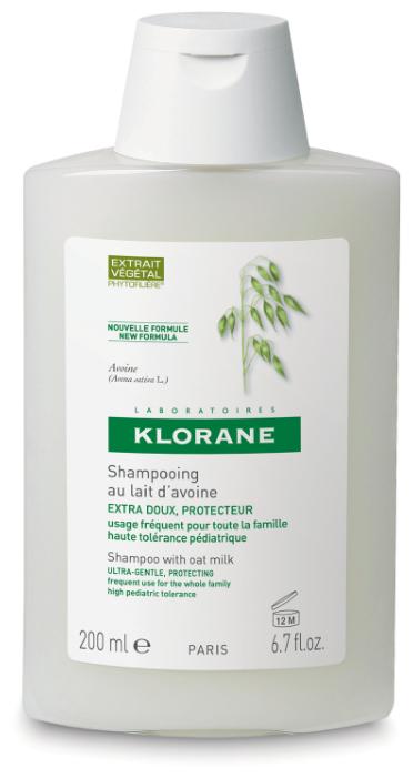 Klorane шампунь Ultra-Gentle, Protecting with oat milk